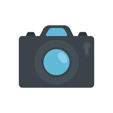 Camera device design, Gadget technology photography equipment digital photo focus and electronic theme Vector illustration Иллюстрация