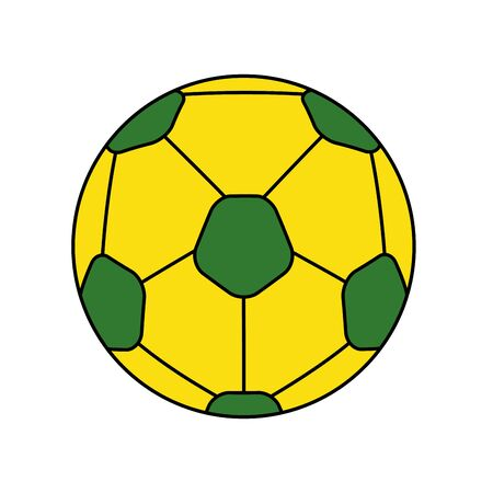 sport ball soccer isolated icon vector illustration design
