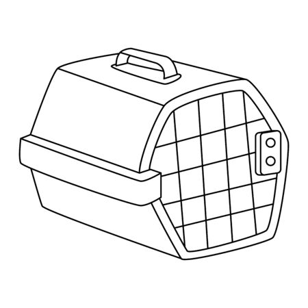 pet carry box isolated icon vector illustration design
