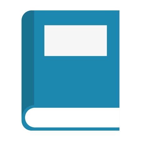 text book school supply icon vector illustration design 向量圖像