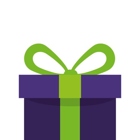gift box present isolated icon vector illustration design 矢量图像