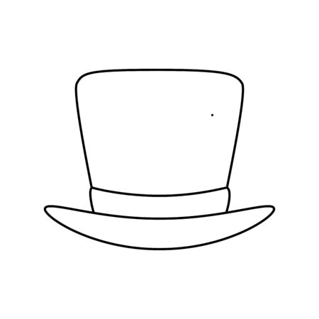 Hat icon design, Cloth costume accessory decoration uniform object season and traditional theme Vector illustration
