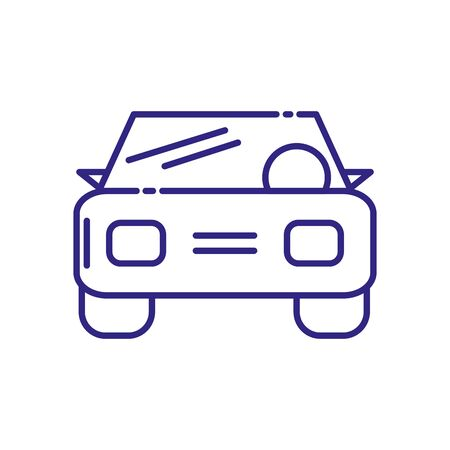 Car design, Transportation vehicle transport wheel speed traffic road and travel theme Vector illustration Illustration