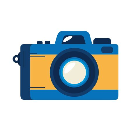 camera photographic device isolated icon vector illustration design Ilustración de vector