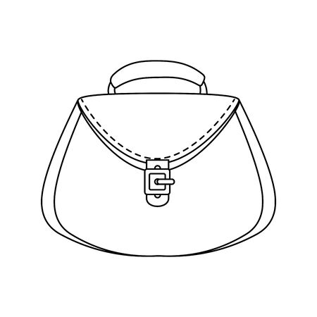 women bag purse isolated icon vector illustration design Ilustração