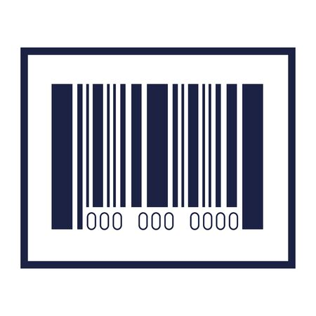 bar code design of technology scan information business price communication barcode digital and data theme Vector illustration