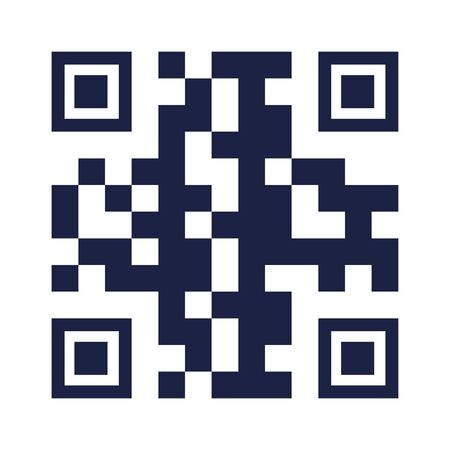 qr code design of technology scan information business price communication barcode digital and data theme Vector illustration 向量圖像