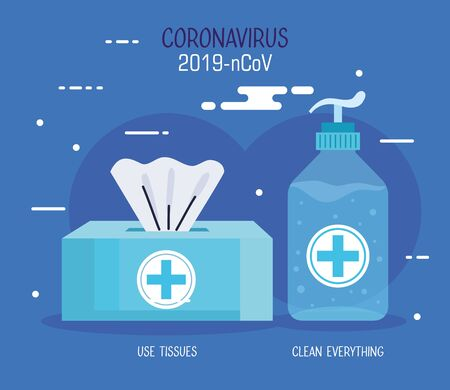 coronavirus 2019 ncov infographic with prevention icons vector illustration design