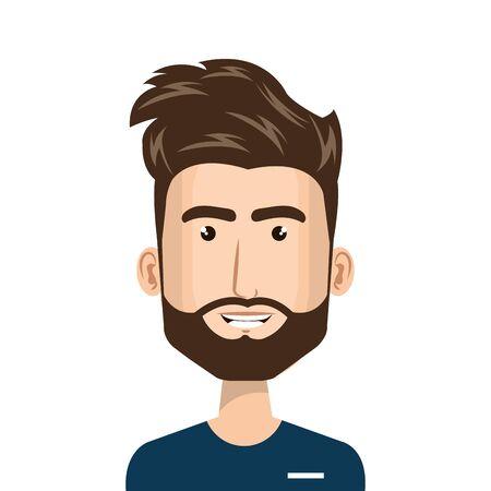 male paramedic avatar character icon vector illustration design Vecteurs