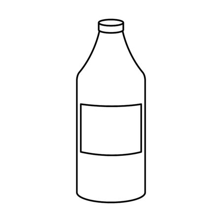 bottle product cleaning isolated icon vector illustration design