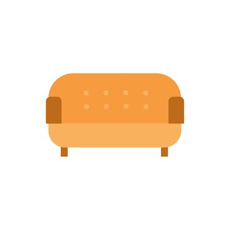 livingroom sofa furniture isolated icon vector illustration design
