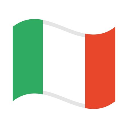 mexican flag fill style icon vector illustration design