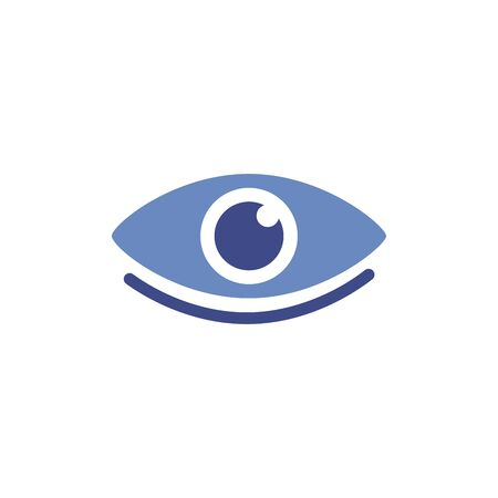 eye human organ isolated icon vector illustration design