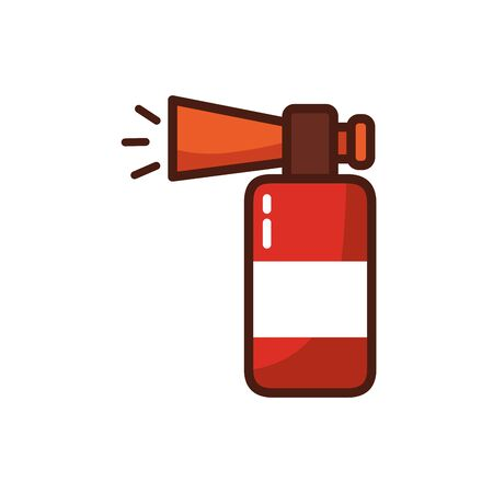 compressed air horn accessory icon vector illustration design
