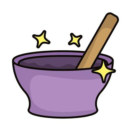 grinder magic sorcery isolated icon vector illustration design Illustration