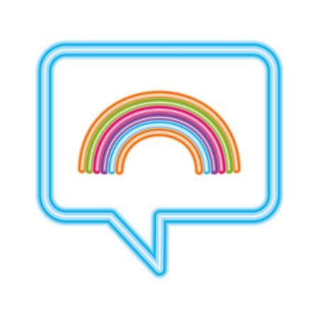 lgbt rainbow inside bubble design, Pride day love sexual orientation and identity theme Vector illustration