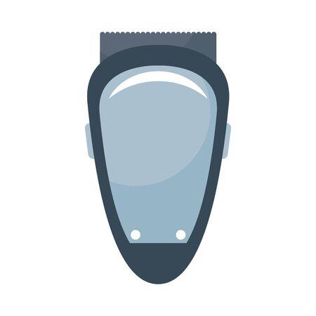 shaving machine barber isolated icon vector illustration design