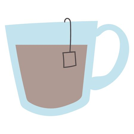 merry christmas chocolate mug icon vector illustration design Иллюстрация