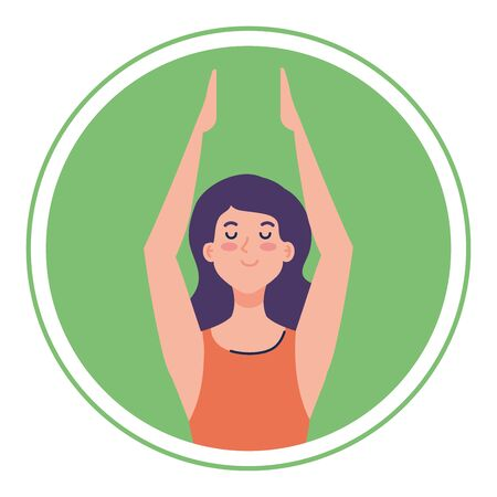 woman with eyes closed, meditation, healthy lifestyle