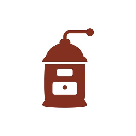 coffee toast machine silhouette style icon vector illustration design