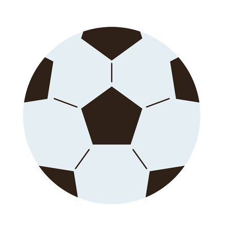 Ball design, Soccer football sport hobby competition and game theme Vector illustration