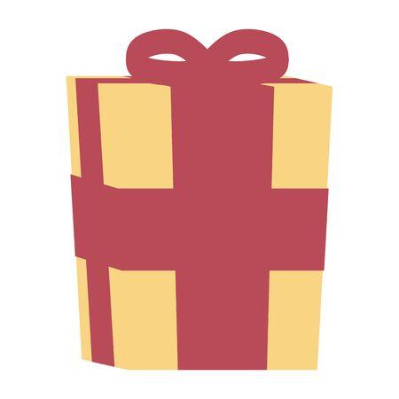 gift box present isolated icon vector illustration design Ilustração