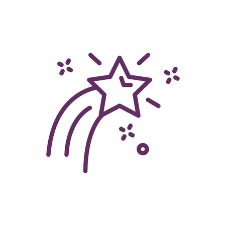 stars splash magic sorcery icon vector illustration design