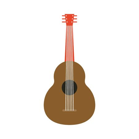 traditional mexican guitar instrument icon vector illustration design Stock fotó - 150412780