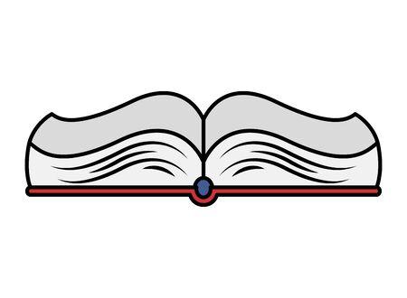 text book open school supply icon vector illustration design 일러스트