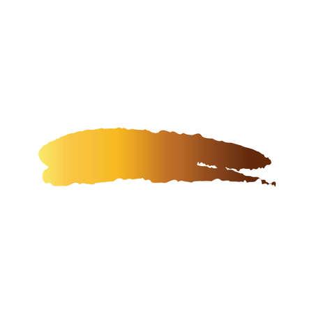 horizontal line creative design with brush stroke degradient style vector illustration design 矢量图像