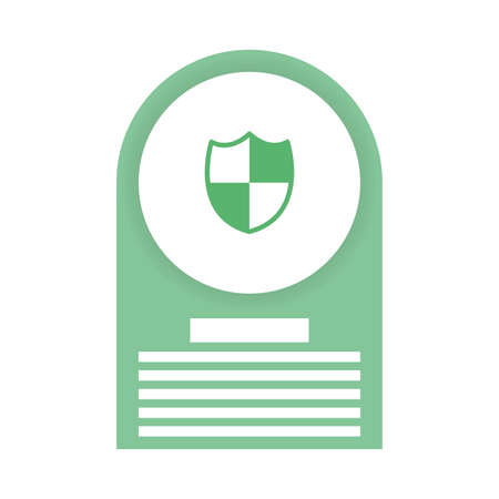 security shield guard isolated icon vector illustration design 일러스트