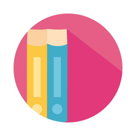 text books closed block style icon vector illustration design Banque d'images - 150888075