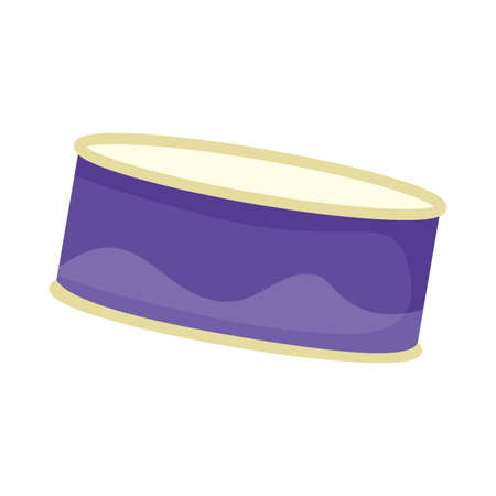 canned food product isolated icon vector illustration design