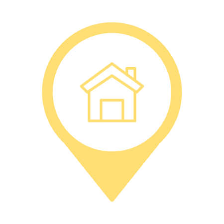 house front pictogram isolated icon vector illustration design 일러스트