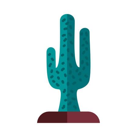 cactu plant flat style icon vector illustration design 스톡 콘텐츠 - 151068239