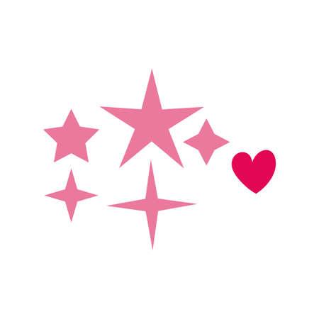 stars premium decoration isolated icon