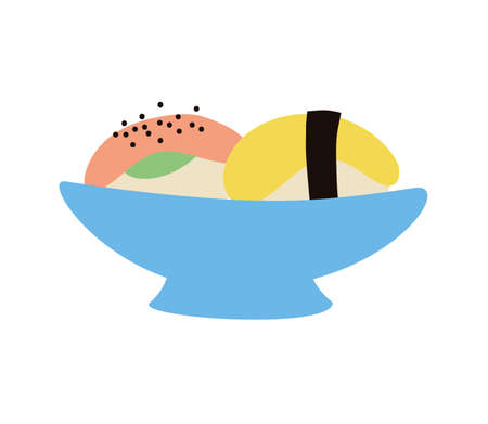 dish with sweet food icon vector illustration design