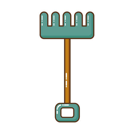 gardening tools isolated icon vector illustration design