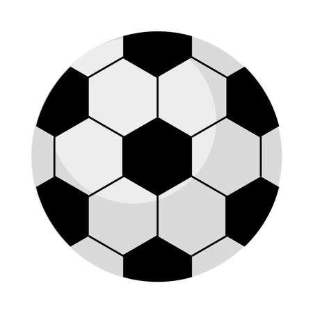 soccer ball sport equipment icon vector illustration design Illustration