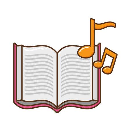 open book isolated icon vector illustration design Vektoros illusztráció