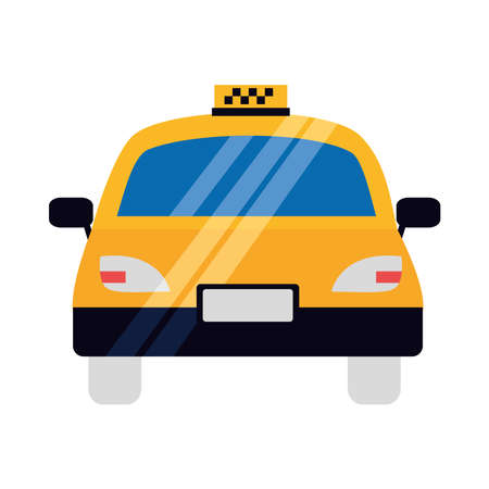 Taxi design, Car transport vehicle transportation cab travel urban city and street theme Vector illustration