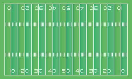 american football field scene icon vector illustration design