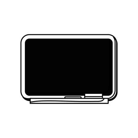 chalkboard school element isolated icon vector illustration design Иллюстрация