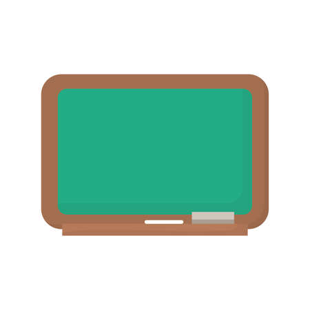 school chalkboard supply education icon vector illustration design Иллюстрация
