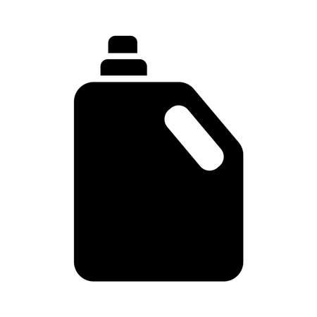 gallon bottle silhouette style icon vector illustration design Stock fotó - 155369849