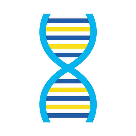 down syndrome dna flat style icon design, disability support and solidarity theme Vector illustration Stock fotó - 155566886