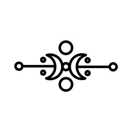 elegant victorian frame decoration silhouette style icon vector illustration design Stock fotó - 155883136