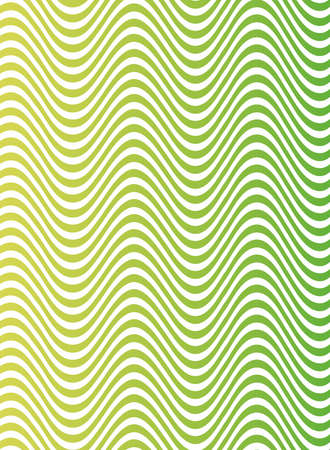 waves and forms green background vector illustration design