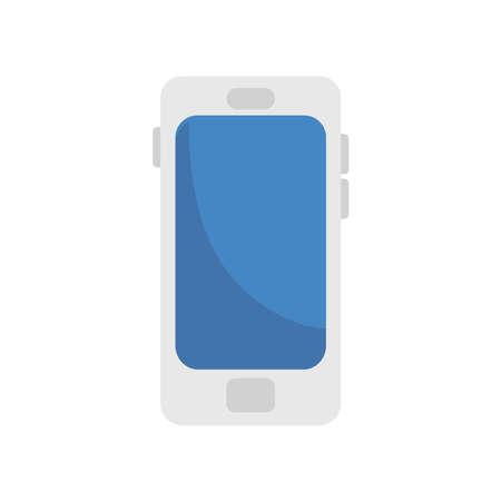 smartphone device tech isolated icon vector illustration design Vettoriali