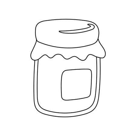 sweet honey pot isolated icon vector illustration design 矢量图像
